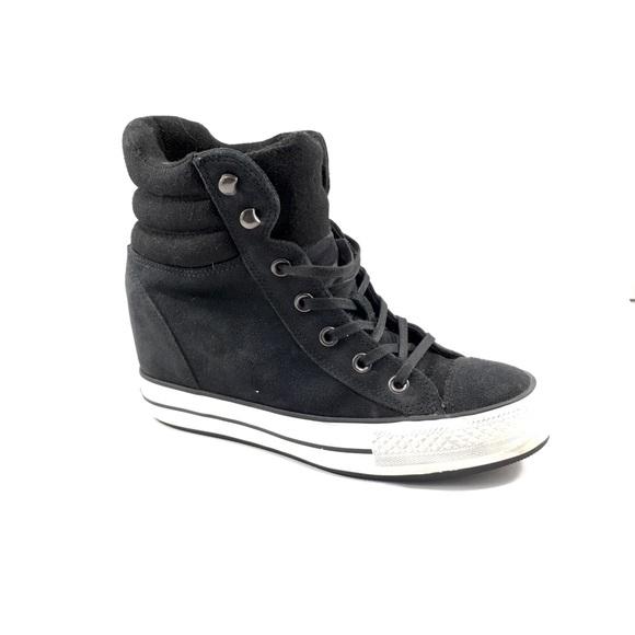 66e0933a7cdb Converse Shoes - Converse Chuck Taylor Platform Plus Collar wedge